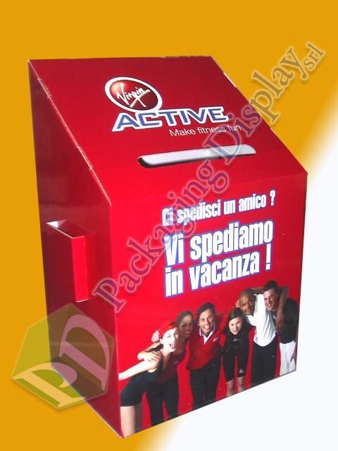 BA050 Active urna con tasche