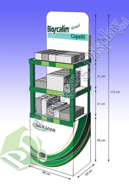 D3D083 Expo Giuliani a scaffale